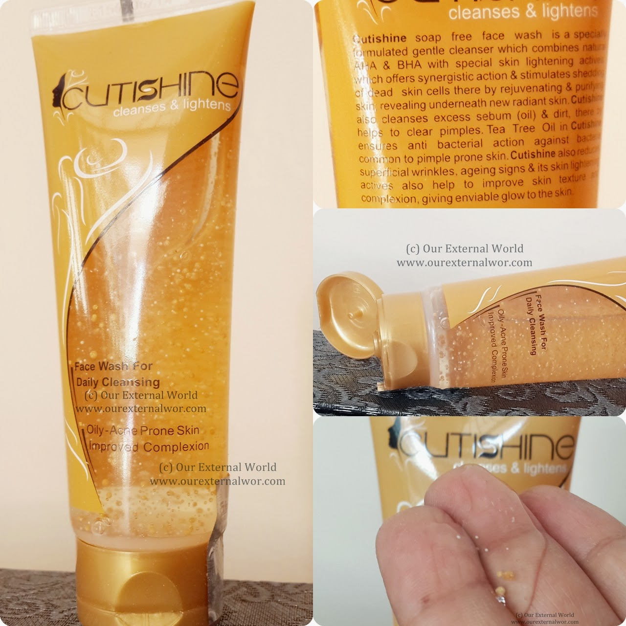 Cutishine face wash, how to treat acne