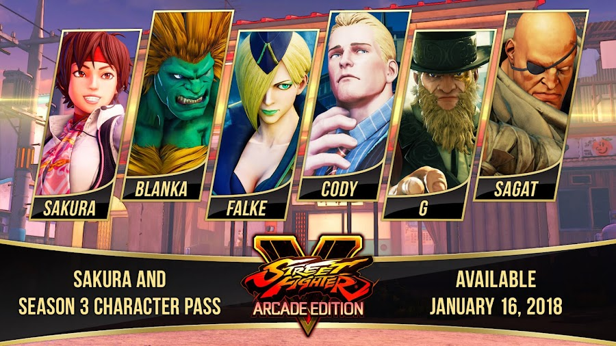 street fighter v arcade edition season 3