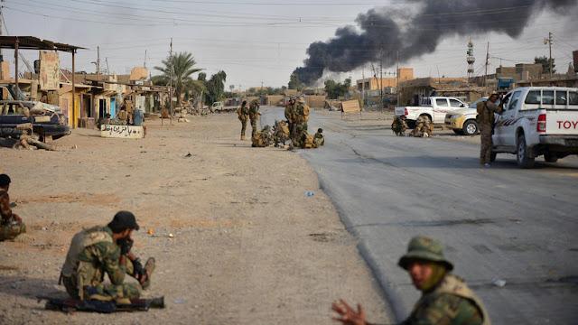 A guerra contra o Estado Islâmico no Iraque pode acaber em breve.