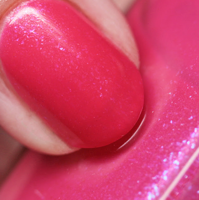 3 Oh! 7 Nail Lacquer Pink Crush