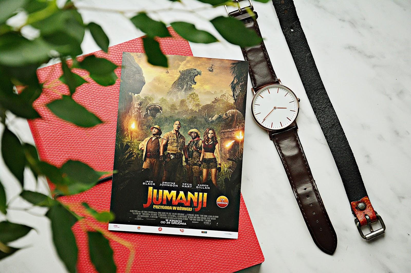 """Recenzja """"Jumanji- Przygoda w dżungli"""""""
