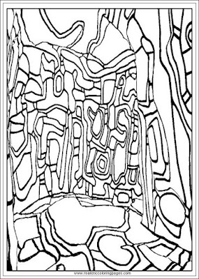 the winter garden coloring pages arts of jean dubufet