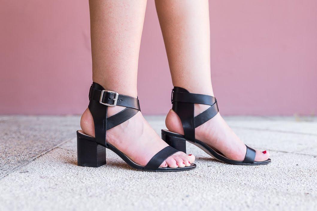 Sandales brides noires Eram