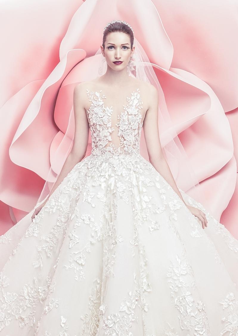 ByElisabethNL: Bridalwear: Stunning wedding gowns from Michael Cinco ...