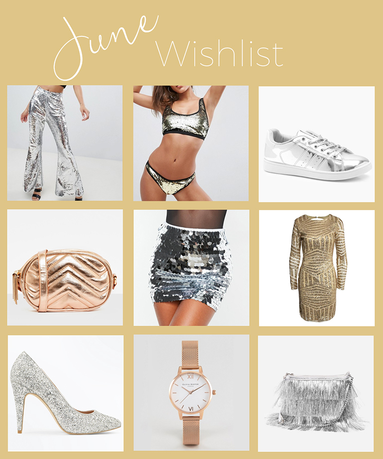 June gold and silver wishlist