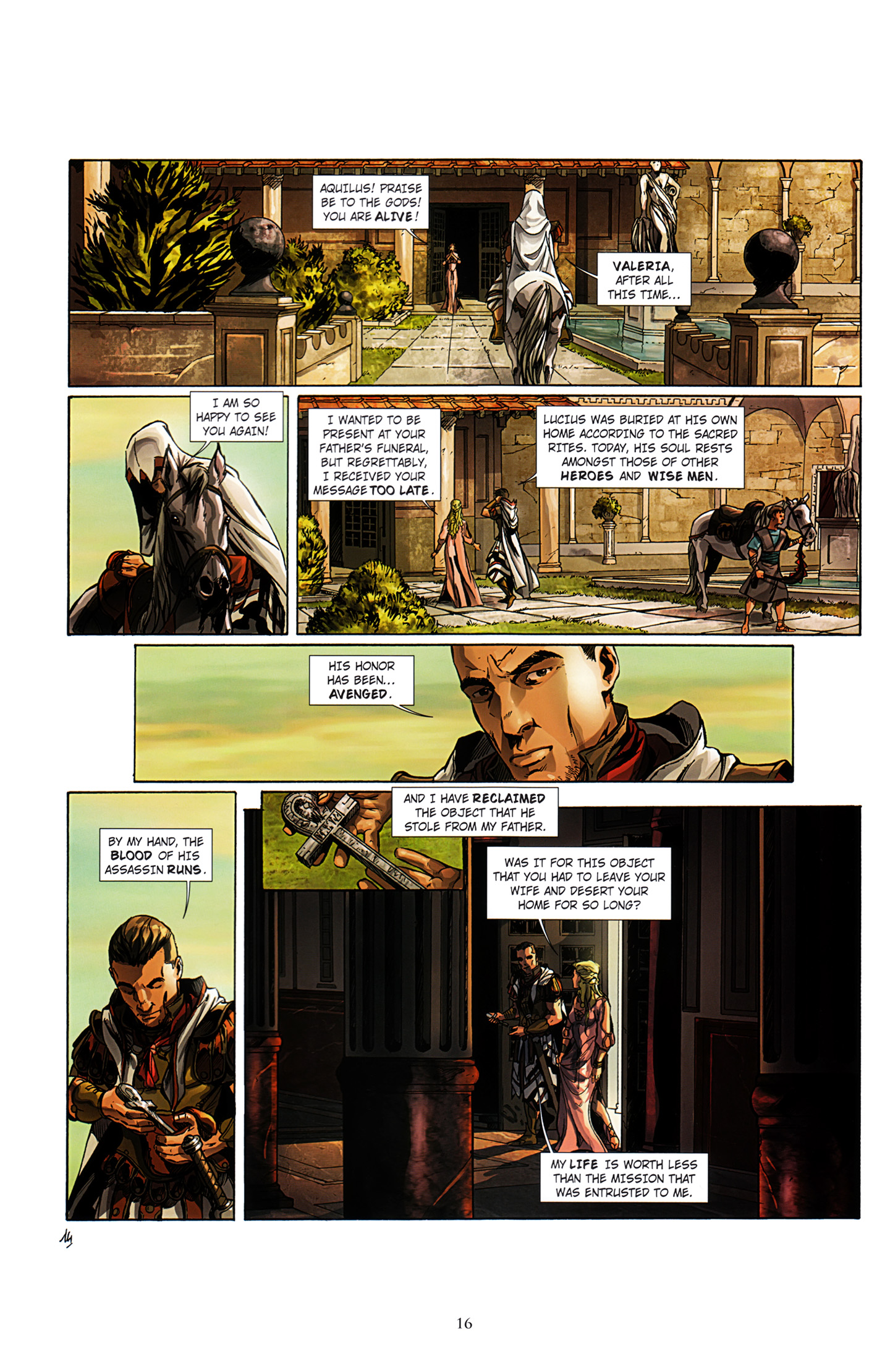 Read online Assassin's Creed (2012) comic -  Issue #3 - 20