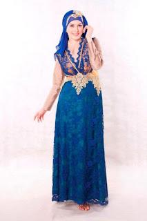 Gaun Pesta Muslim Modern Model Terbaru