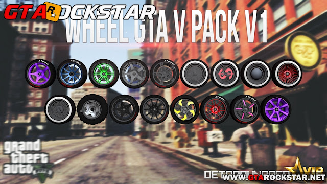 GTA SA - Pack de Rodas convertidas do GTA V V1.0