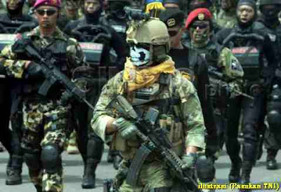 TNI AD juara tembak di ajang AASAM 2017