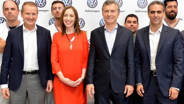 Volkswagen le anunció al Presidente Macri una inversión de 650 millones de dólares