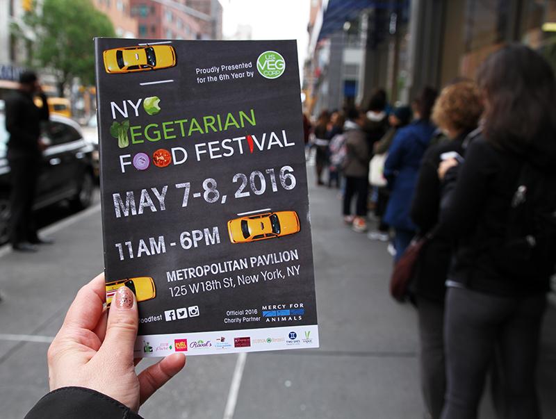 Veganreise New York NY Vegetarian Food Festival