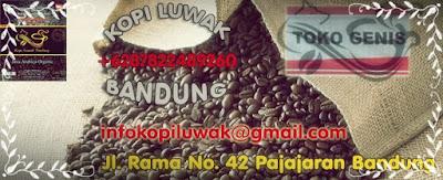 klb kopi luwak bandung indonesia