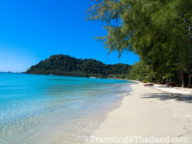 Tropical beach at Koh Kut, Thailand