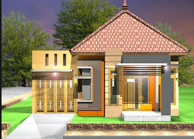 Desain Rumah Sederhana 6x12 Modern 2 Lantai Mudah Dibuat