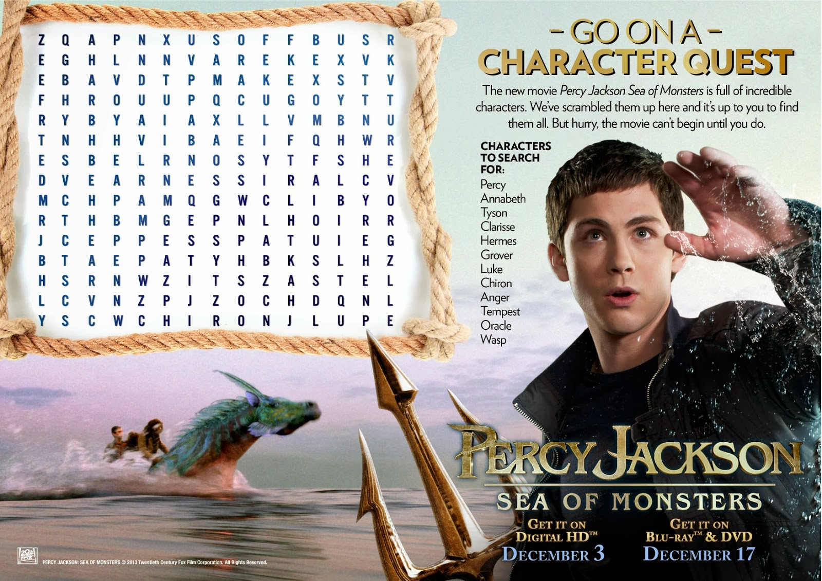 Dragonfly Sweetnest Percy Jackson Sea Of Monsters