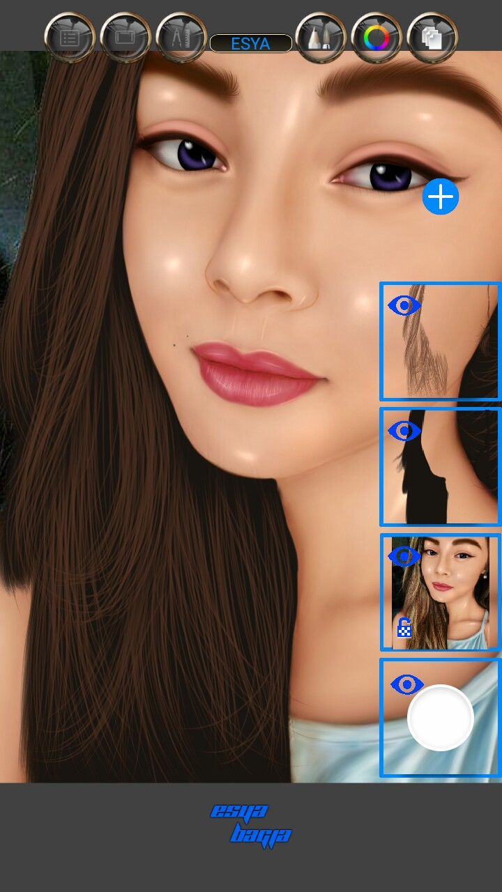Tutorial Smudge Painting Android Skin Kinclong Sketchbook