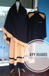 Gamis Syar'i Couple Suami Istri Terbaru