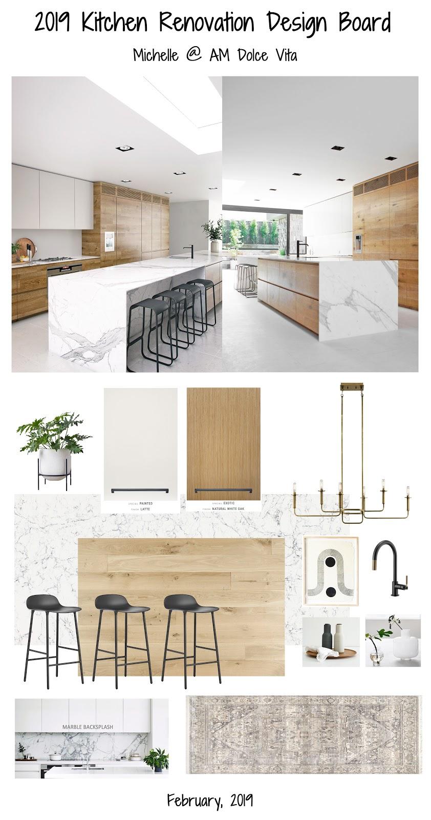 Am Dolce Vita My Modern Kitchen Design Plan