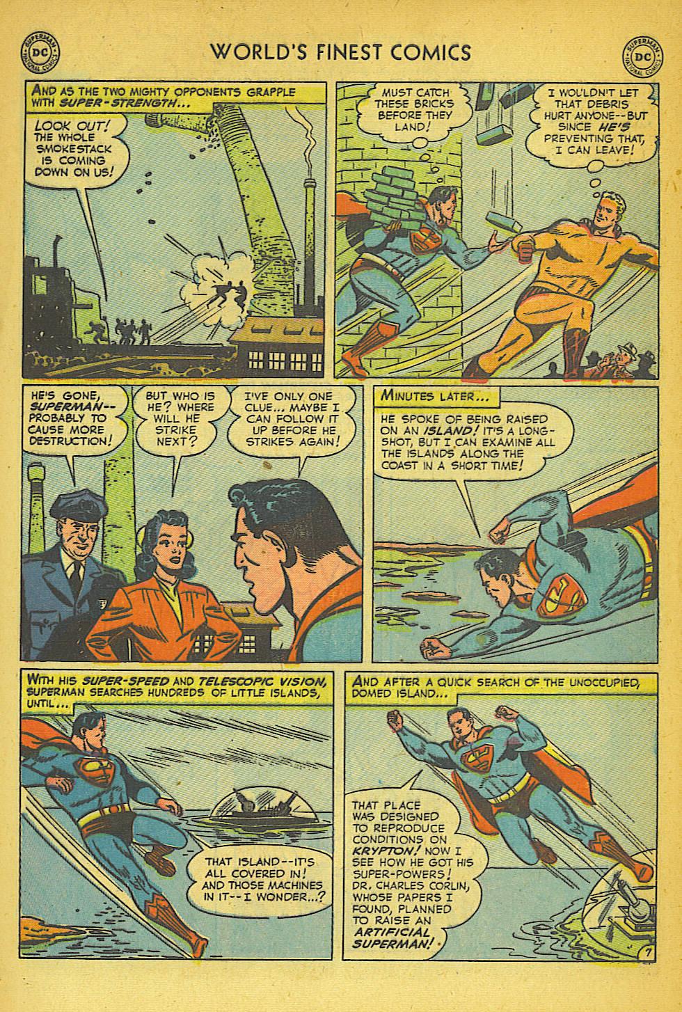 Read online World's Finest Comics comic -  Issue #57 - 9