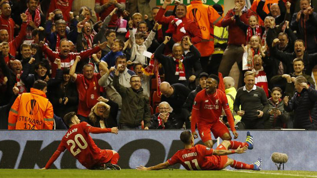 [Video] Cuplikan Gol Liverpool 3-0 Villarreal [agg 3-1] (Liga Eropa)