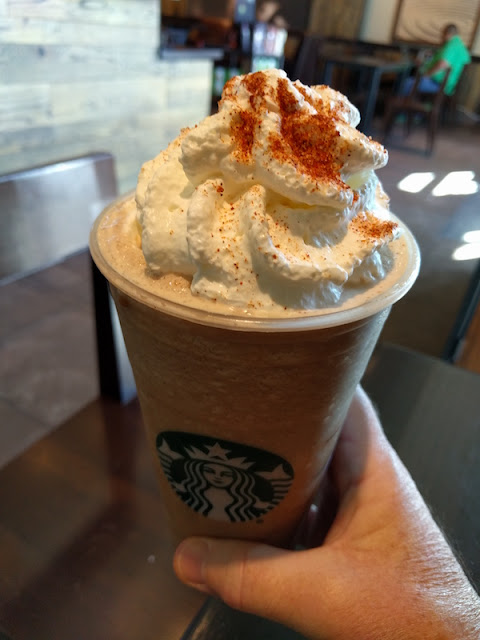 Chile Mocha Frappuccino at Starbucks