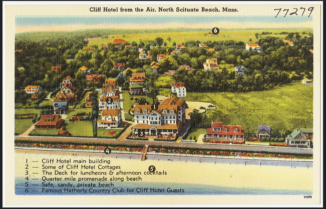 Cliff Hotel In Scituate Photos And Historic Information Not Your Police Department Home