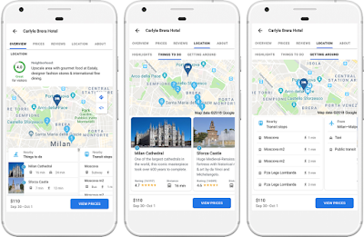 Google Hotel scoring