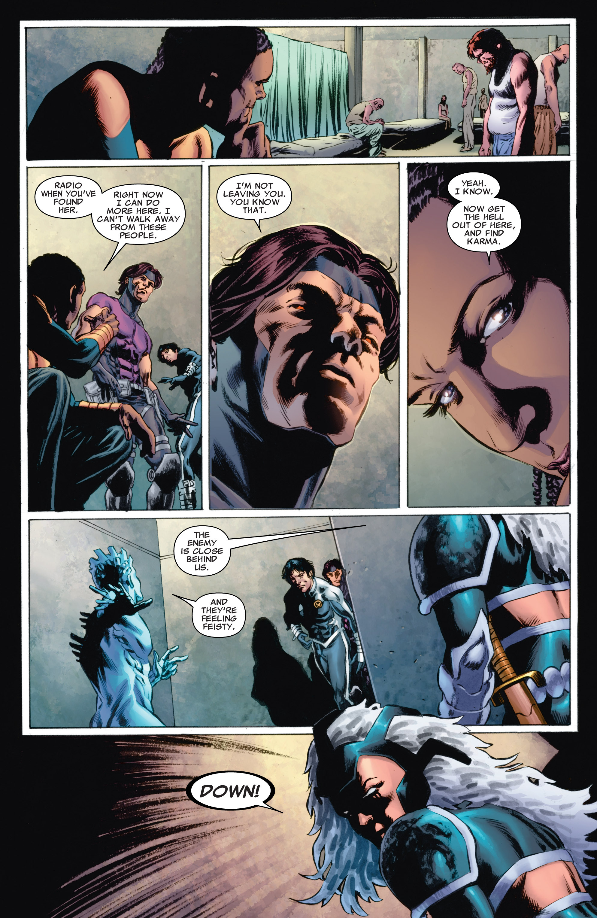 Read online Astonishing X-Men (2004) comic -  Issue #53 - 16