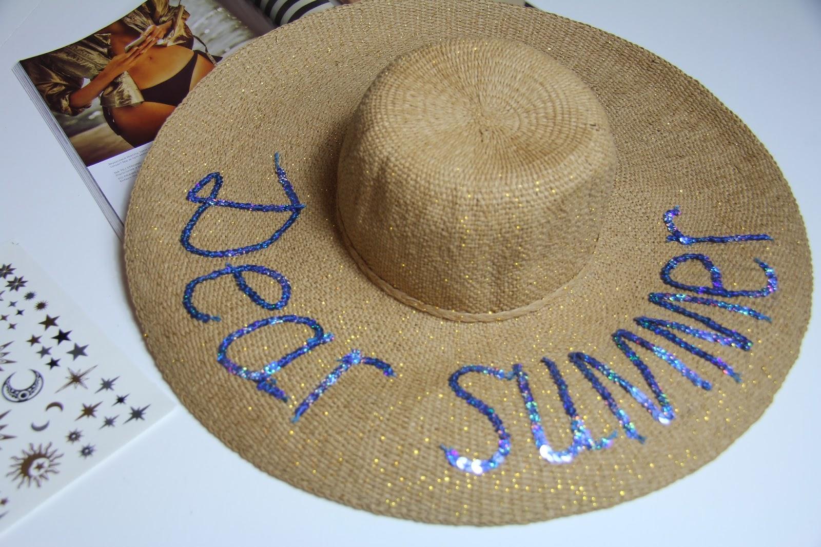 jak zrobić kapelusz dear summer