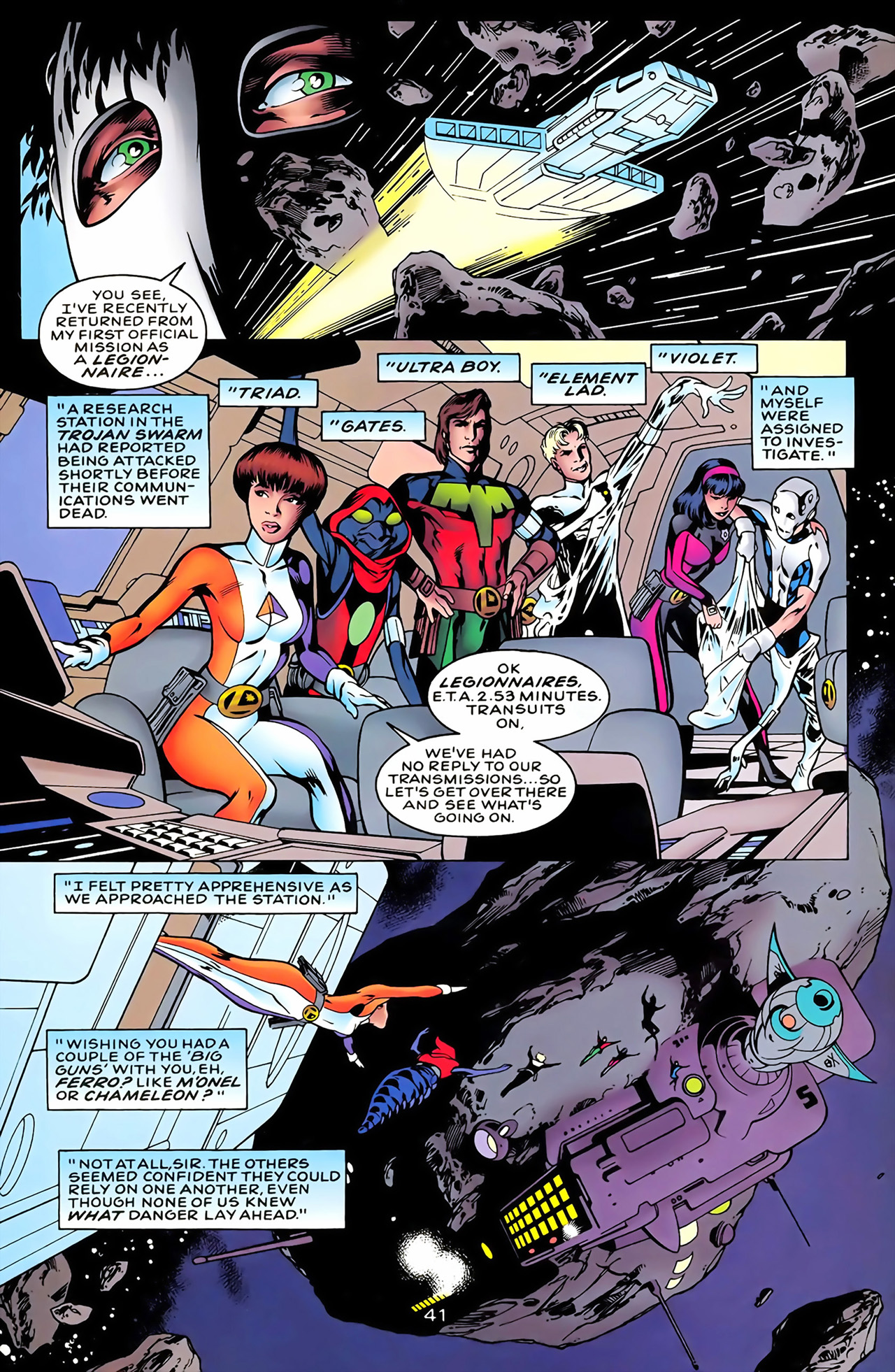 Legion of Super-Heroes (1989) 100 Page 37