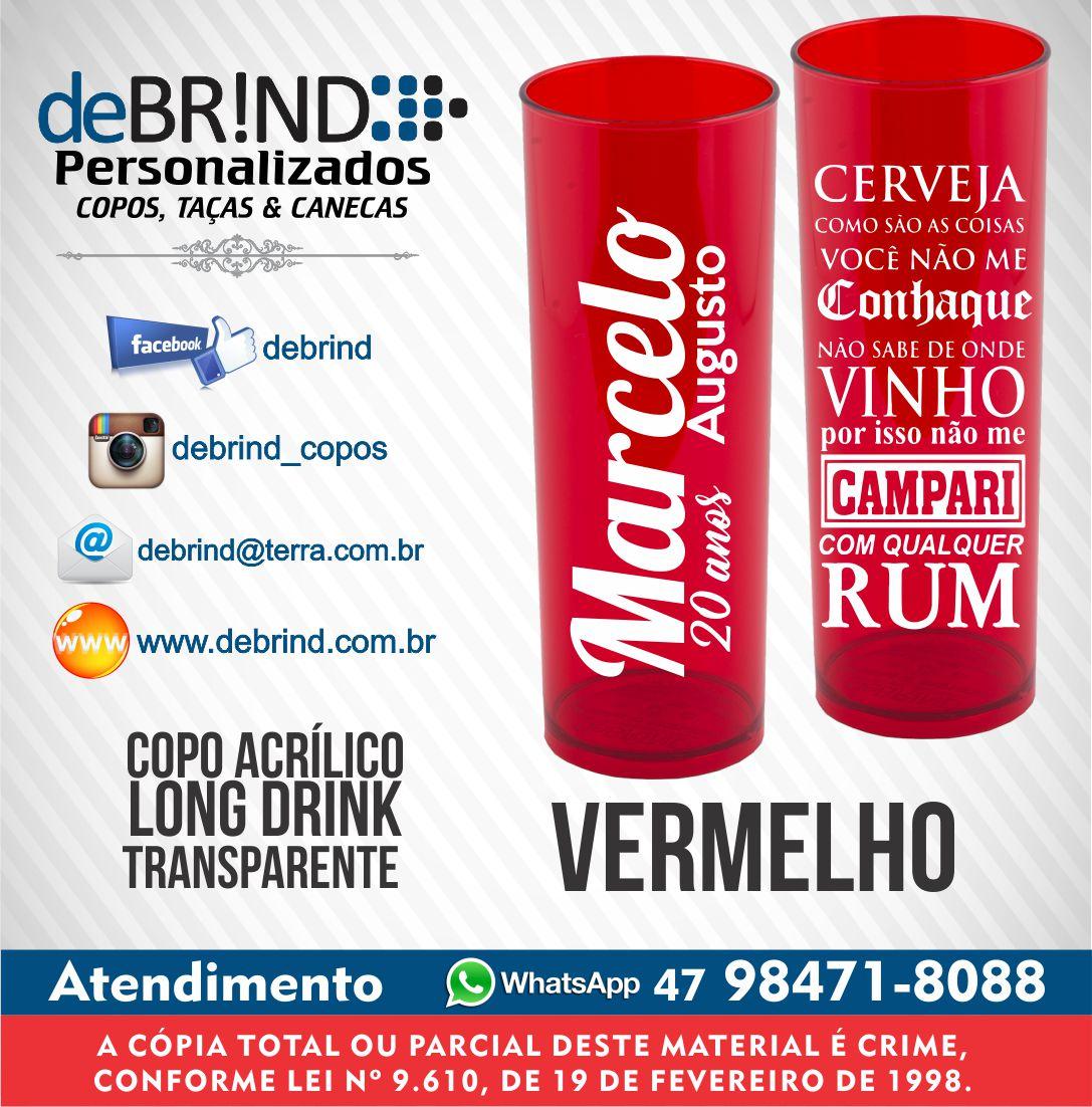 Frase Bebida Copo Personalizado Aniversário Debrind Fábrica De