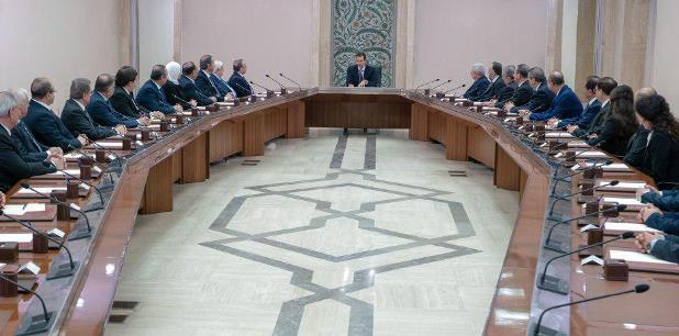الرئيس الأسد أولويات العمل مكافحة الفساد وتحقيق نتائج سريعة يلمسها المواطن- فيديو