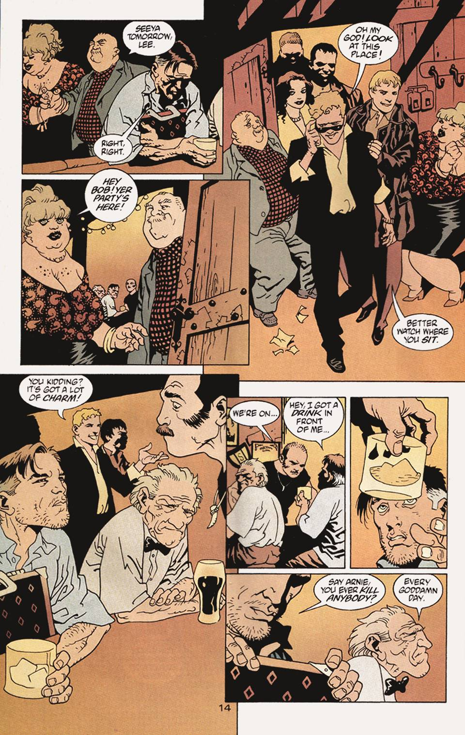 Read online 100 Bullets comic -  Issue #4 - 15