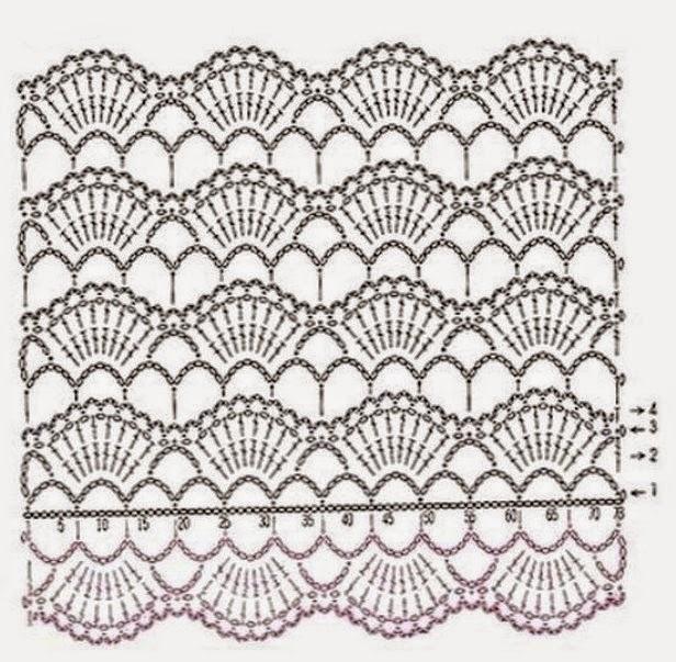 Bufandas juveniles con sus patrones | Crochet y Dos agujas ...