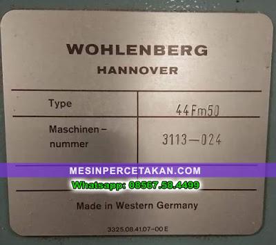 Wohlenberg 44FM50