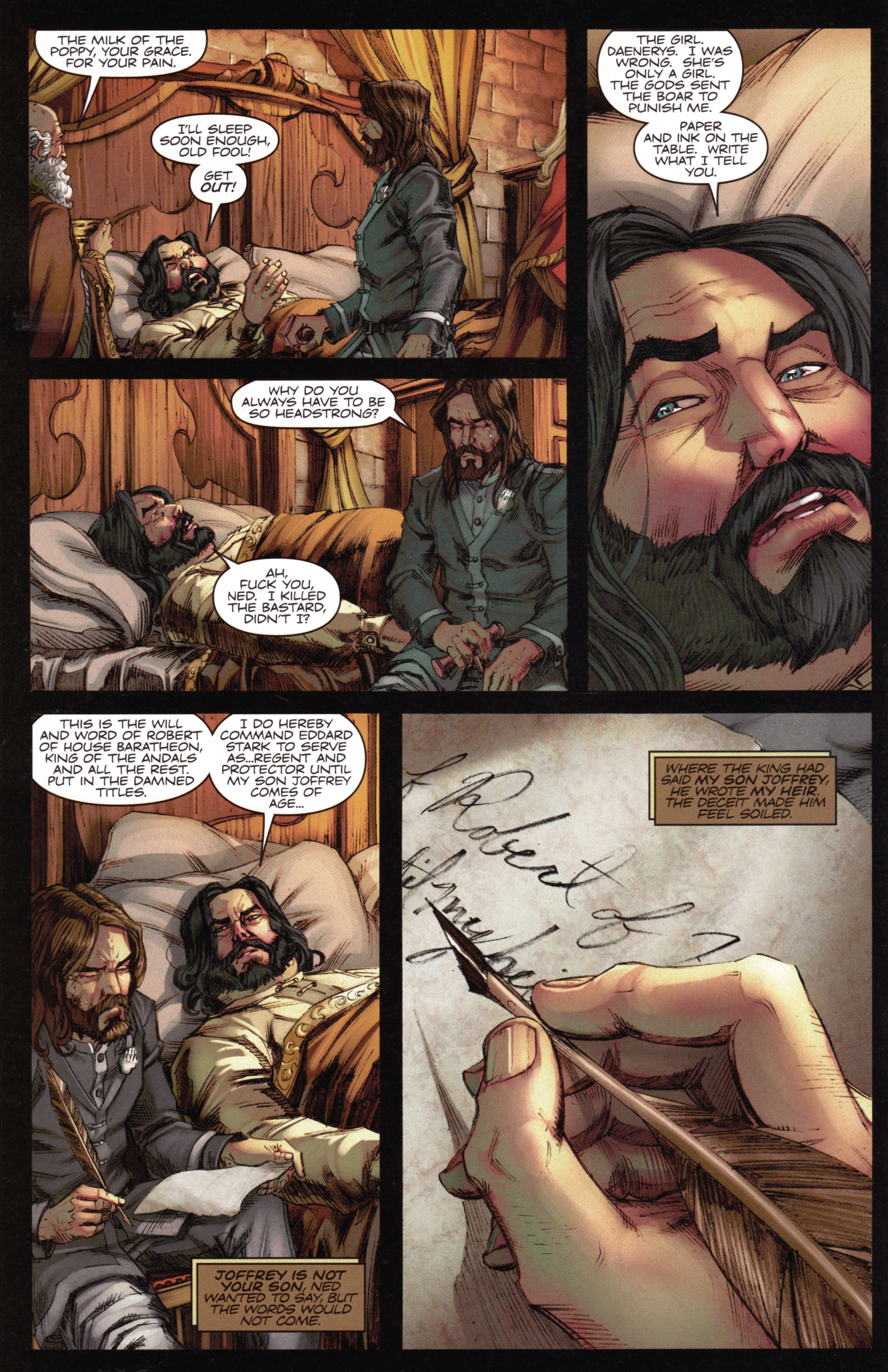 Read online A Game Of Thrones comic -  Issue #15 - 14