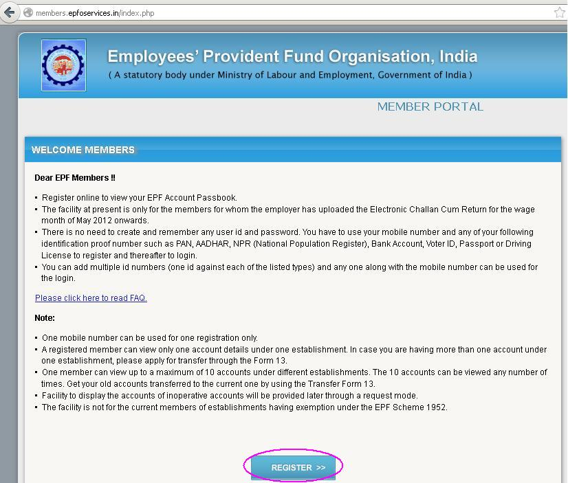 the employee provident fund