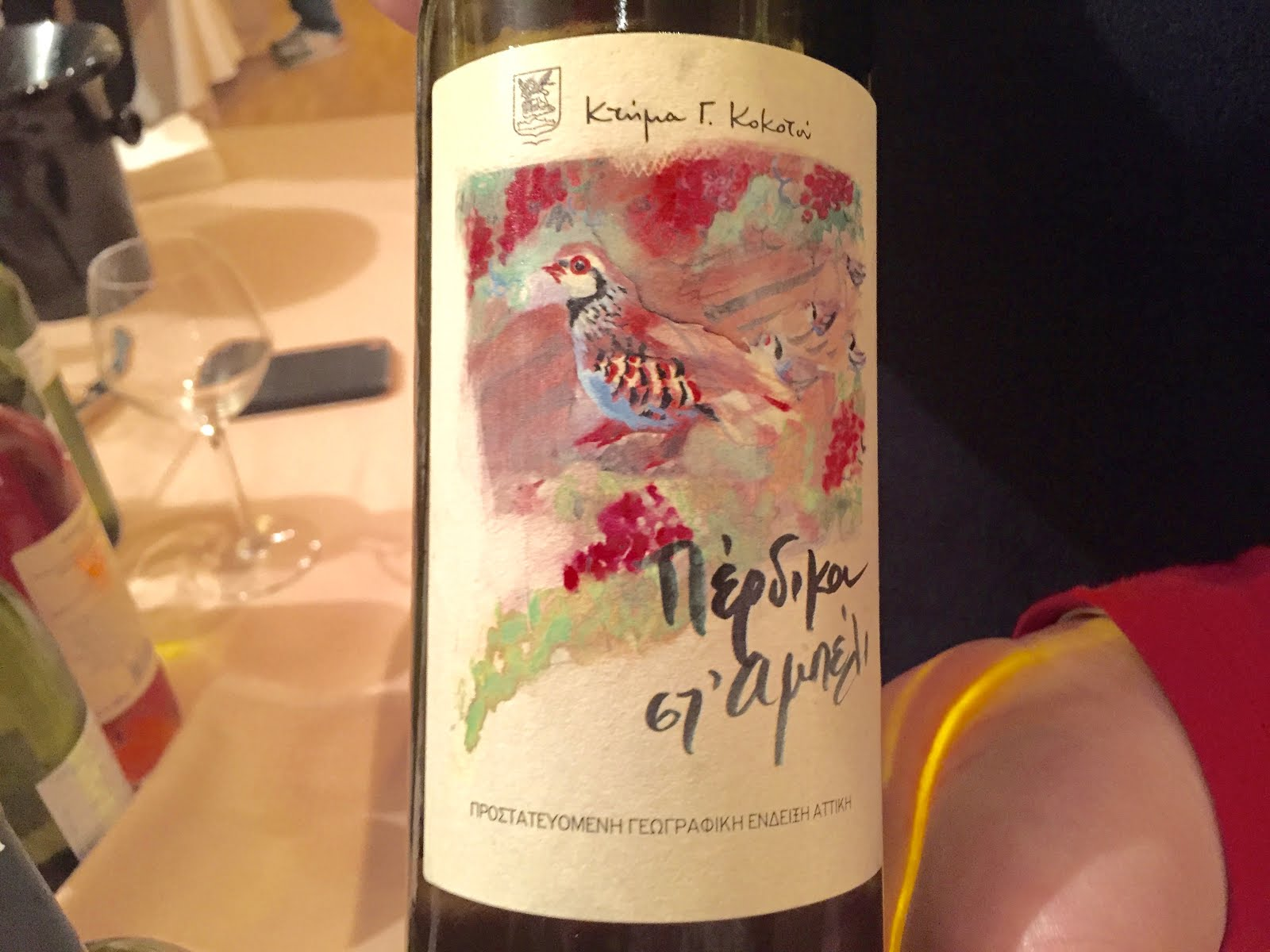 A winemaker who is showcasing Greek wines to the world ...