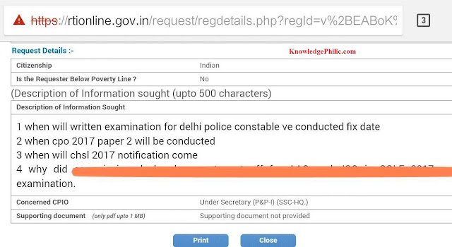 CHSL-17 Notification on time, DP Constable & CPO17 P2 dates will be published soon
