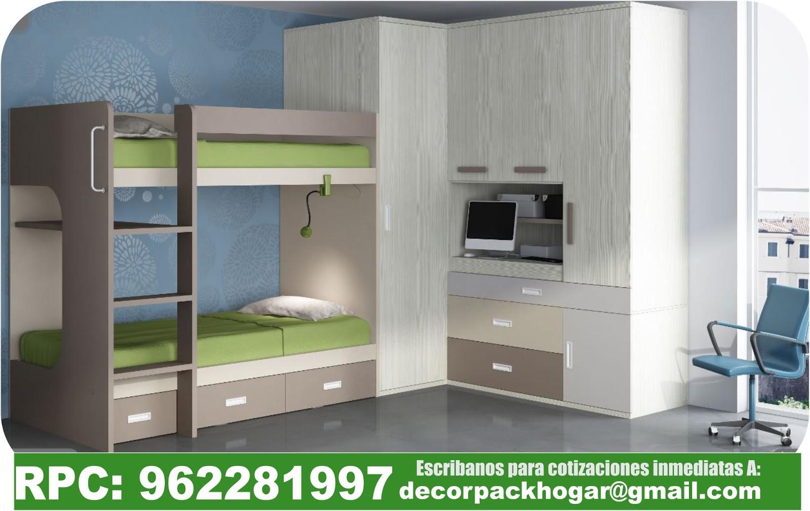 Dise os fabricacion de closet cocina y muebles de oficina for Roperos para habitaciones pequenas
