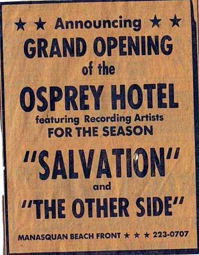 The Osprey Grand Opening ad