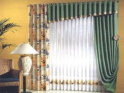 Muebles y Decoracin de Interiores Cortinas Alemanas para Sala y Otras Habitaciones de la Casa
