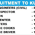 URGENT RECRUITMENT TO KUWAIT | MULTIPLE JOBS | APPLY NOW