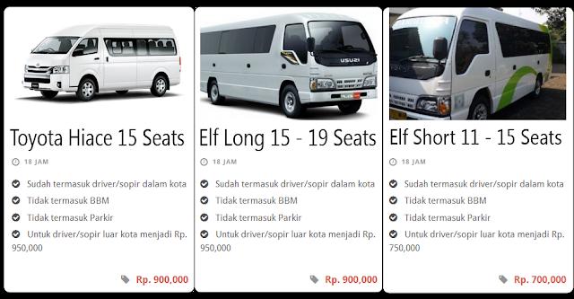 Rental Mobil Pariwisata Bandung