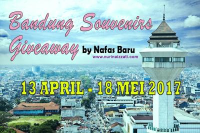 Bandung Souvenirs Giveaway by Nafas Baru