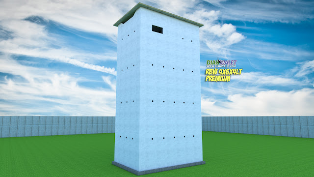 Desain Rumah Walet 4x6 4 Lantai Tanpa Rumah Monyet Premium