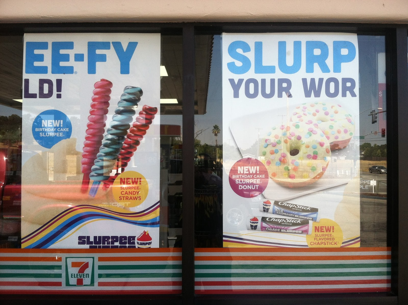 Eclectic Arcania: Picture of the Day - Ify Slurpee Spelling