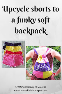 Shorts to Funky Soft Backpack