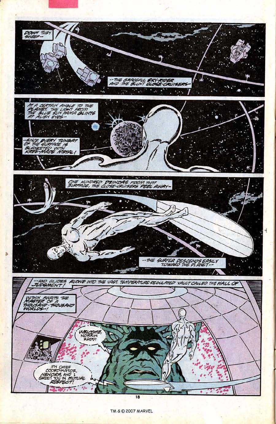Read online Silver Surfer (1987) comic -  Issue #7 - 26