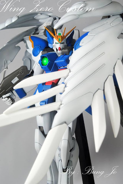 Wing Zero Custom painted by the modeler